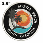 Myrtle Beach South Carolina 35 Embroidered Iron on or Sew on Patch Vacation