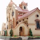 Lemax 2010 Old Mission Church Holiday Christmas Village. Rare & Realistic Design