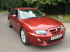 05 MG ZT+CDTi 135 TURBO DIESEL WITH ONLY 82000 MILES LEATHER INTERIOR  FUL