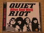 Quiet Riot - Alive and Well (2013 CD)