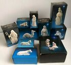 Avon Nativity Holy Family Three Kings Animals Collectible Set of 12 Pcs In Boxes