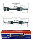 For Geo Tracker Suzuki X 90 Sidekick 4WD Set of Front CV Axle Shafts SurTrack