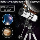 114 1000mm Professional Astronomical Refractor Telescope Eyepiece With Tripod