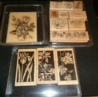 Stampin Up Rubber Stamps Floral Theme Retired You Pick