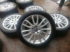 Genuine OEM Volvo C30 17 5x108 alloy wheels + tyres Ford Connect Focus