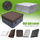 14 Size Oxford Fabric Hot Tub Spa Cover Waterproof Dust Protector Case Garden