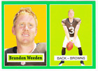 2012 Topps Football 1957 Rookies Green Guide 45