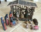Southern Living at Home Santos Nativity Set Holy Family Wise Men Stable Animals