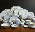 Furnivals Ltd England Quail Blue Dishes Various Items Dinnerware  Serving Piece