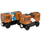 Thomas And Friends Wood Annie And Clarabel Train Set NEW