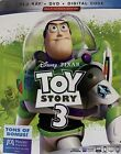 TOY STORY 3 Blu Ray + DVD + Digital New Factory Sealed