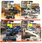 Matchbox 1 64 Real Working Rigs 2019 F N3242 956F Set of 4 Diecast Vehicles