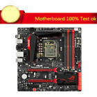 For Asus Maximus VII Gene Z97 mATX LGA1150 Motherboard I O tested Mainboard