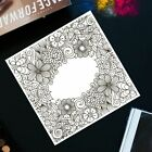 Flower Background DIY Silicone Clear Stamp Cling Seal Scrapbook Embossing Album