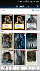 2016 Topps Star Wars Card Trader Physical Trading Cards 26