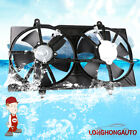 Front Condenser Radiator Cooling Fan ASSY For 02 06 Altima 04 08 Maxima 25 35L