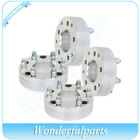 4 pcs 2 thick 5x5 to 6x55 wheel spacers 14x15 studs for Jeep Grand Cherokee
