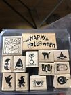 Stampin Up Halloween Wooden Stamps