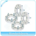 4 pcs 1 thick 5x45 wheel spacers 1 2 studs for Jeep Wrangler Cherokee