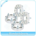 4 pcs 125 thick 5x45 wheel spacers 1 2 studs for 07 09 Ford Lincoln Mazda