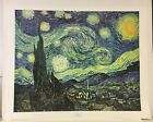 Paper Print Starry Night Framing Options Available