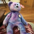 TY Beanie Baby - CLUBBY IV the Bear 2001 Original Owner FREE SHIPPING