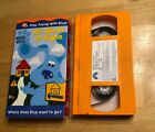 Blues Clues All Kinds of Signs VHS 2001 Nick Jr Educational RARE