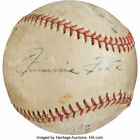 Jimmie Foxx Baseball Cards and Autographed Memorabilia Buying Guide 37