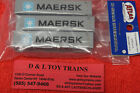 50004165 Maersk 40 Standard Height Container Set 2 NEW IN PACKAGE