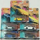 HOT WHEELS 2019 CAR CULTURE STREET TUNERS Real Riders S2000 Rx7 Brz Silvia 180sx