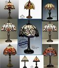 Tiffany Style Hand Crafted Glass Table Desk Bedside Lamps Christmas Present