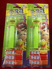 Disney The Muppets Kermit the Frog Pez candy dispenser 073621092808 set of 2 lot