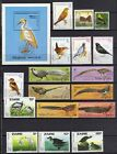 STAMPS BIRDS LOT OF 17 STAMPS 1 S S 6 COUNTRIES ZAIRE LAOS MALAGASY REF 1199 X