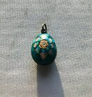Imperial Russian egg Faberge design pendant
