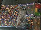 MM 12 x 12 Scrapbook page and 5 packs of stickersRARE NEW in Plastic M  M LOT