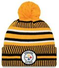 New Era 2019 NFL Pittsburgh Steelers Cuff Knit Hat REV Home Beanie Stocking Cap