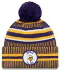 New Era 2019 NFL Minnesota Vikings Cuff Knit Hat Home OTC Beanie Stocking Cap