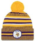 New Era 2019 NFL Minnesota Vikings Cuff Knit Hat Home REV Beanie Stocking Cap