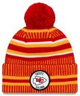 New Era 2019 NFL Kansas City Chiefs Cuff Knit Hat Home OTC Beanie Stocking Cap