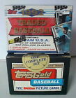 1992 TOPPS TRADED GOLD & REGULAR BASEBALL COMPLETE FACTORY SEALED 132 CARD SET