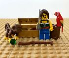 LEGO Pirates: Female Pirate + Monkey + Parrot + Treasure 6253, SHIPWRECK HIDEOUT
