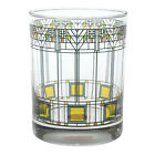 Frank Lloyd Wright Tree of Life Glass Tumblers Set of 2 Collectible Cups