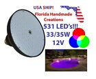 12V 33W Swimming Pool RGB Color Changing LED Light for Pentair Hayward Fixture