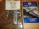 WINGS OF TEXACO DIECAST BANK ERTL 1932 NORTHROP GAMMA NEW IN BOX VINTAGE 1994