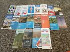Lot Of 20 Vintage Maps- Gulf, Standard, Esso, Skelly, Amoco More!!