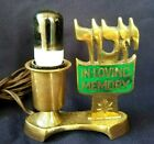 JEWISH MEMORIAL LIGHT STAR OF DAVID AEROLUX BULB IN LOVING MEMORY LAMP