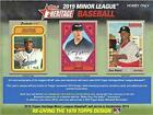 2019 Topps Heritage Minor League Baseball Hobby Factory Sealed Box