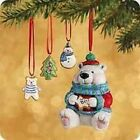 Hallmark 2002 Ornament - Sweet Tooth Treats - 1st in Series - Set of 4 Ornaments