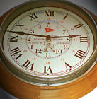 RMS Titanic, White Star Line, Albion House Liverpool, Wooden Reception Clock