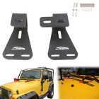 For Jeep Wrangler YJ TJ CJ Hood High Lift Jack Mount High With HARDWARE Brackets